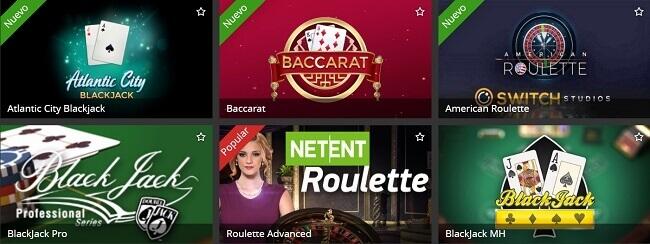 Inkabet Casino Juegos